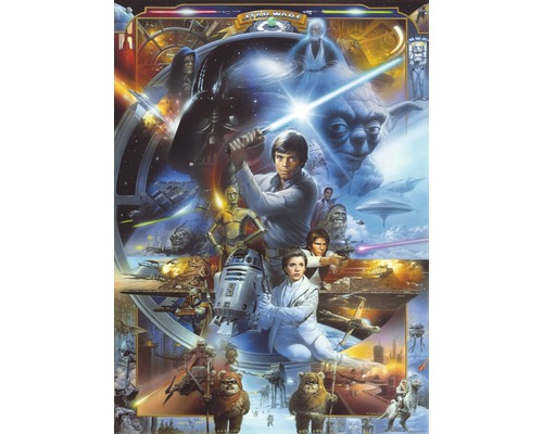 Tapeten Kinderzimmer Star Wars : Fototapete Disney Edition 2 Star Wars Luke Skywalker 184 x 254 cm bei