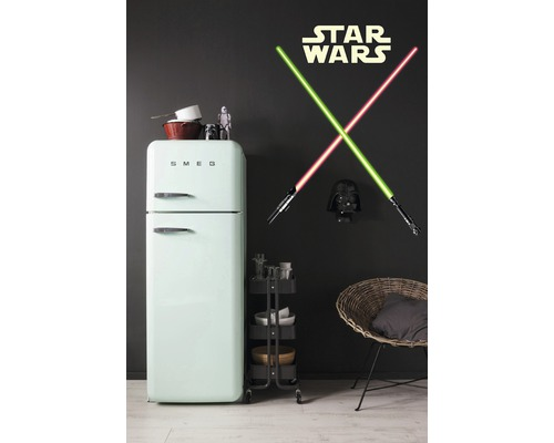 wandtattoo disney edition 2 star wars lightsaber 50x70 cm. Black Bedroom Furniture Sets. Home Design Ideas
