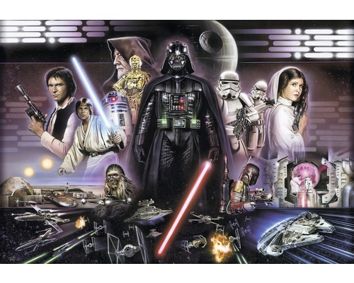 fototapete disney edition 2 star wars darth vader collage. Black Bedroom Furniture Sets. Home Design Ideas