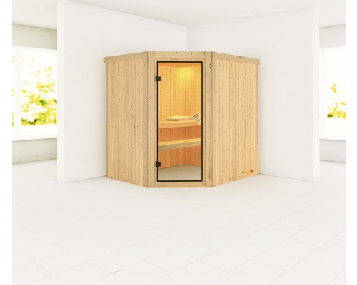 plug play sauna karibu silja ohne ofen und dachkranz bei hornbach kaufen. Black Bedroom Furniture Sets. Home Design Ideas