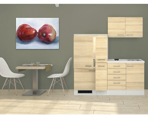 k chenzeile akazia 190 cm akazie dekor bei hornbach kaufen. Black Bedroom Furniture Sets. Home Design Ideas