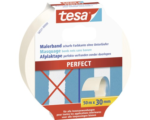 tesa kreppband perfect 50m x 30mm bei hornbach kaufen. Black Bedroom Furniture Sets. Home Design Ideas