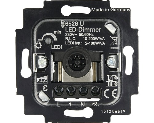 led dimmer einsatz busch jaeger 6526 u bei hornbach kaufen. Black Bedroom Furniture Sets. Home Design Ideas