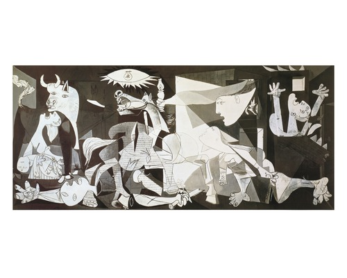 kunstdruck picasso guernica 70x140 cm bei hornbach kaufen. Black Bedroom Furniture Sets. Home Design Ideas