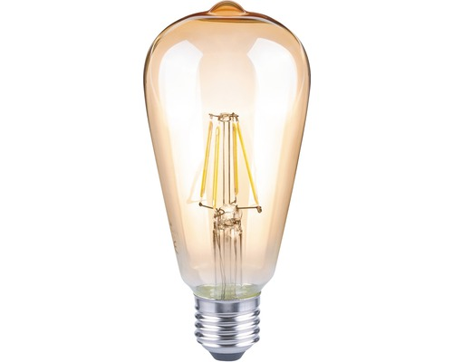 Flair Led Lampen : Flair led lampe e w w st filament amber lm k