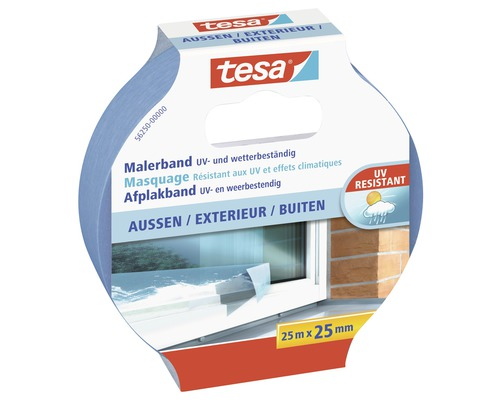 tesa kreppband aussen 25m x 25mm bei hornbach kaufen. Black Bedroom Furniture Sets. Home Design Ideas