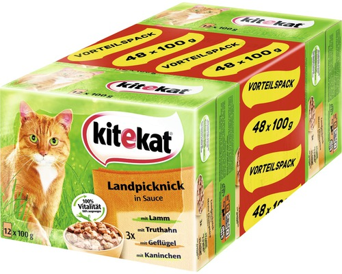 katzenfutter nass kitekat landpicknick 48 x 100 g bei hornbach kaufen. Black Bedroom Furniture Sets. Home Design Ideas