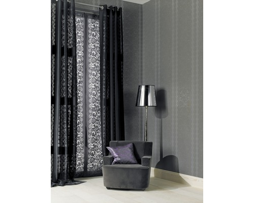 barbara becker schiebegardine female first grau 57x245 cm. Black Bedroom Furniture Sets. Home Design Ideas