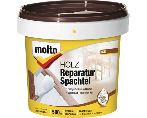 molto holz reparatur spachtel 500 g bei hornbach kaufen. Black Bedroom Furniture Sets. Home Design Ideas