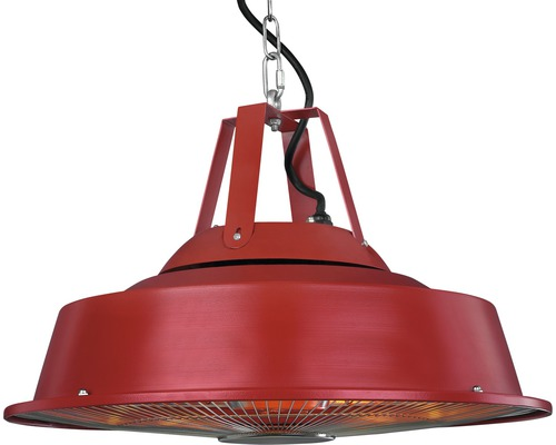 """Party Deckenstrahler Eurom """"SAIL"""" rot 1500W"""