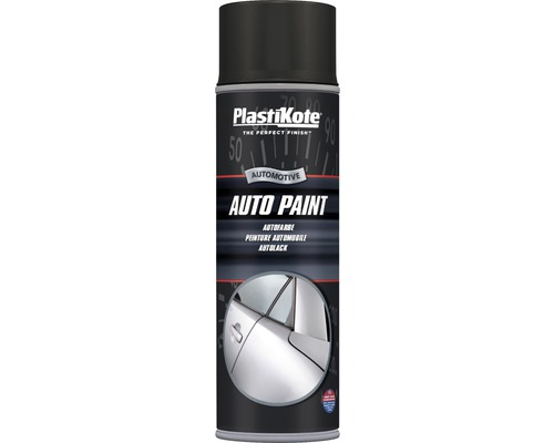 autolack spray plastikote matt schwarz 500 ml bei hornbach. Black Bedroom Furniture Sets. Home Design Ideas
