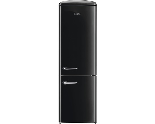k hl und gefrierkombination gorenje ork193bk schwarz bei hornbach kaufen. Black Bedroom Furniture Sets. Home Design Ideas