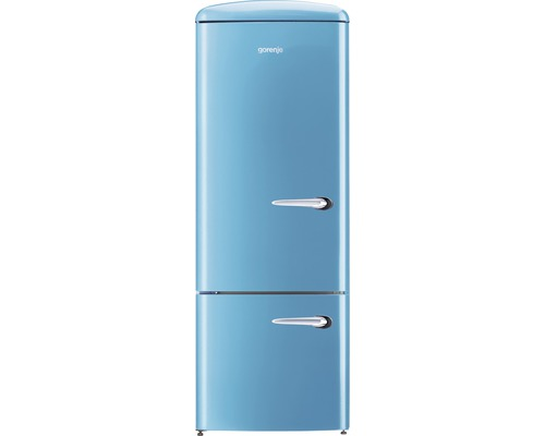 k hl und gefrierkombination gorenje rk60319obl l blau bei hornbach kaufen. Black Bedroom Furniture Sets. Home Design Ideas