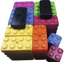 Bausteine ESDA-XXL-Fun-Blocks GRUND-Set 53 Steine