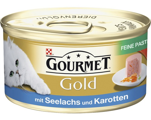 katzenfutter nass gourmet gold feine pastete seelachs und karotte 85 g bei hornbach kaufen. Black Bedroom Furniture Sets. Home Design Ideas