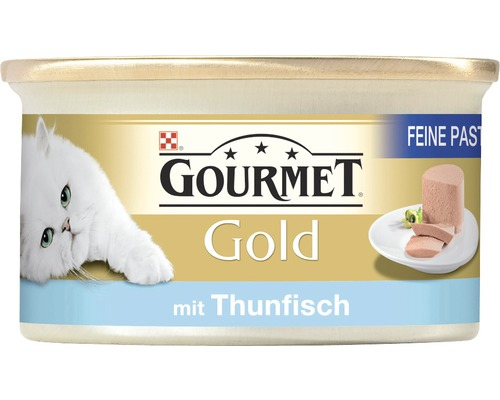 katzenfutter nass gourmet gold pastete mit thunfisch 85 g bei hornbach kaufen. Black Bedroom Furniture Sets. Home Design Ideas