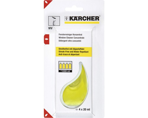 fensterreiniger konzentrat k rcher 4 x 20 ml bei hornbach. Black Bedroom Furniture Sets. Home Design Ideas