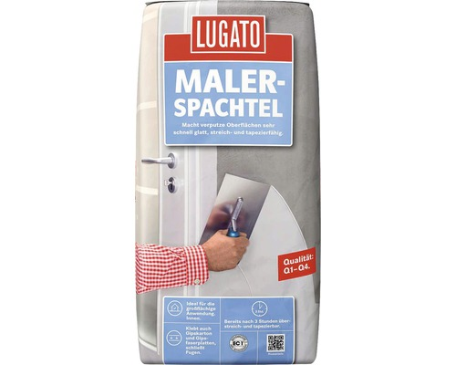 fl chenspachtel lugato malerspachtel 18 kg bei hornbach kaufen. Black Bedroom Furniture Sets. Home Design Ideas