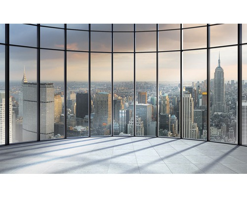 fototapete 1510 p4 new york papier fenster skyline 254 x 184 cm bei hornbach kaufen. Black Bedroom Furniture Sets. Home Design Ideas