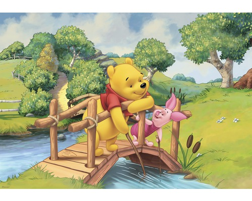 fototapete 3157 p4 papier winnie pooh br cke 254 x 184 cm bei hornbach kaufen. Black Bedroom Furniture Sets. Home Design Ideas
