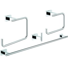 Häufig GROHE Essentials Cube Bad-Set 3 in 1 chrom 40777001 bei HORNBACH JK44