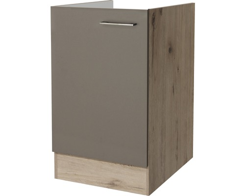 sp lenschrank riva breite 50 cm san remo eiche hell quarzit cubanit bei hornbach kaufen. Black Bedroom Furniture Sets. Home Design Ideas