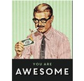 Dekomagnet You Are Awesome 8x6 cm