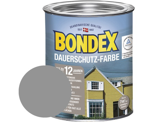 bondex holzfarbe dauerschutzfarbe platinum 750 ml bei hornbach kaufen. Black Bedroom Furniture Sets. Home Design Ideas